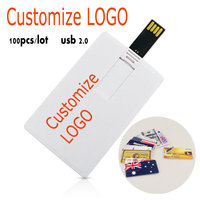 100pcs/lot memory card usb pen drive custom logo free memoria stick 64gb 32gb USB 2.0 flash drive 16gb 8gb high speed usb drive