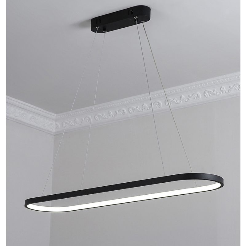 0 7 0 9 1 2M modern led pendant lights for dining room kitchen black white aluminum Pendant lamp suspension luminaire lustre led in Pendant Lights from Lights Lighting