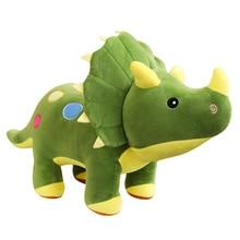 40-100cm Creative Big Plush Soft Triceratops Stegosaurus Toy Dinosaur Doll Stuffed Kids Dinosaurs