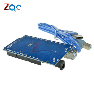Мега 2560 R3 доска 2012 Offcial версия с ATMega 2560 ATMega16U2 чип для Arduino интегрированный драйвер