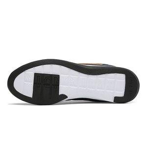 Image 5 - אופנה גברים סניקרס גברים נעליים יומיומיות לנשימה תחרה עד Mens נעליים יומיומיות אביב עור נעלי גברים chaussure homme