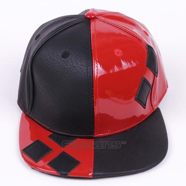 quality design b240b 6bdbf DC COMICS Harley Quinn Snapback Caps Cool Fashion Hip Hop Hat Adult Letter Baseball  Cap For Men Women