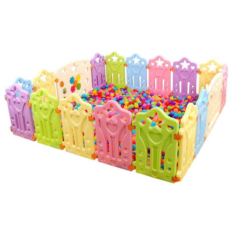 Фехтование для детей Детский манеж забор Крытый открытый детские Манеж для игрушек Экологичные PE ограждение для детского манежа дети присп