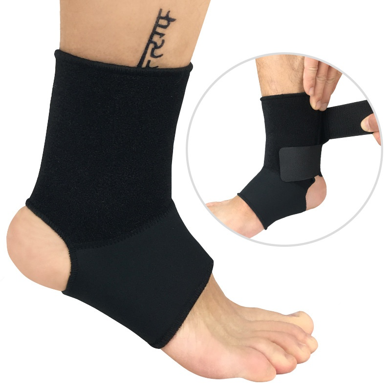 *Fitness Ankle Brace Support Guard Protector Compression Sleeve Bandage Boxing Football Gym Foot Sport Prevent Sprain Sports H