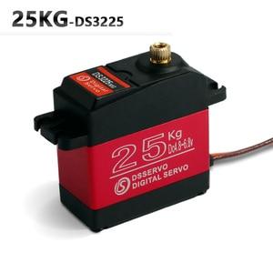 Image 3 - 4XDS3225 aggiornamento servo 25kg full metal gear digital servo baja servo servo Impermeabile per auto baja + Trasporto libero