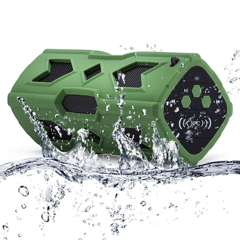 FUU Yeni Dikdörtgen Açık Su Geçirmez Bluetooth Hoparlör Mobil - Taşınabilir Ses ve Görüntü - Fotoğraf 5