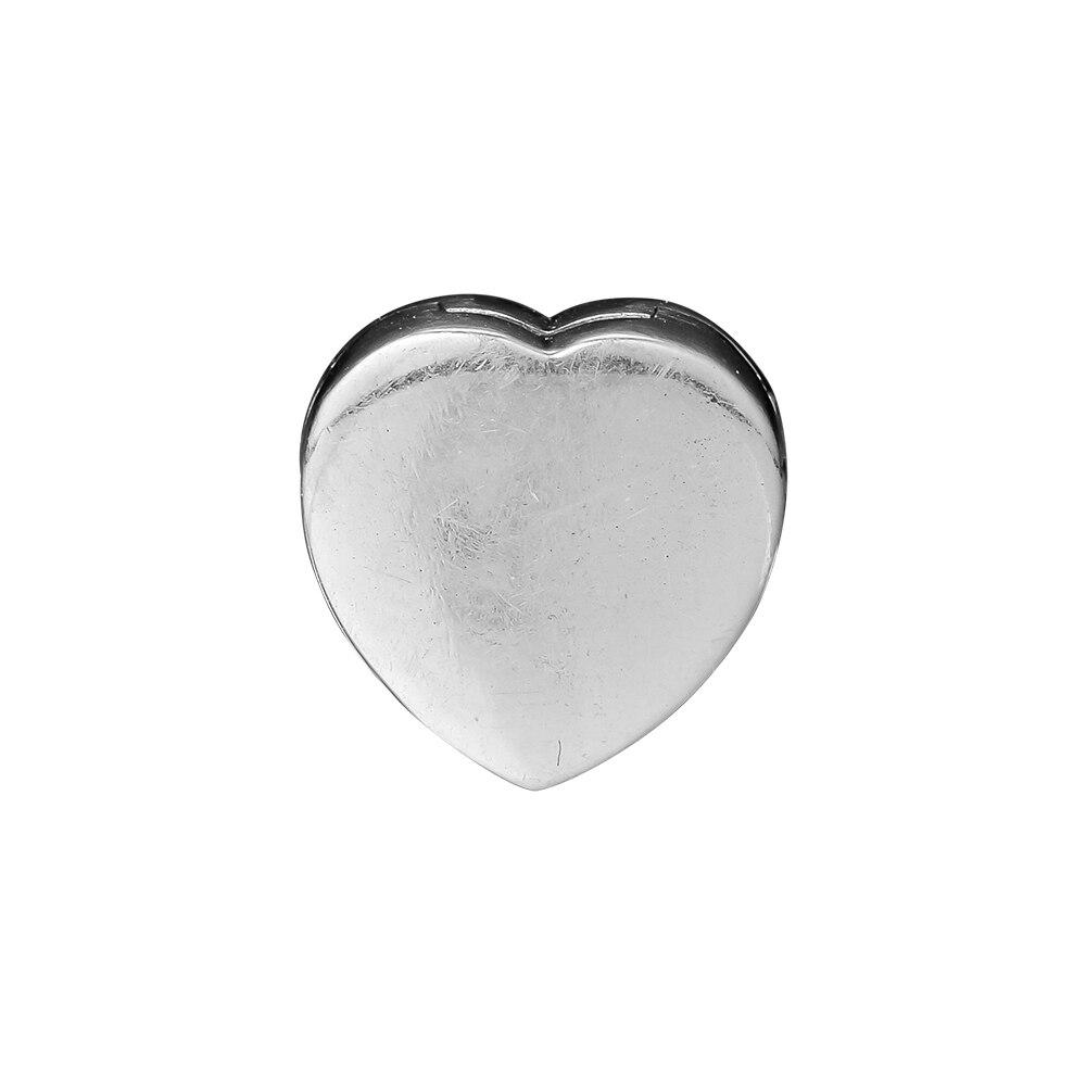 Pandulaso Reflexions corazón Clip encanto Fit 925 plata esterlina joyería pulseras para mujer DIY cuentas para hacer joyas