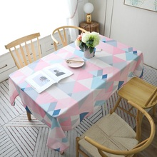 WLIARLEO Tablecloth Table Cloth Modern Polyester / Cotton tablecloths Waterproof For Wedding,Banquet,Party,Home toalha de mesa