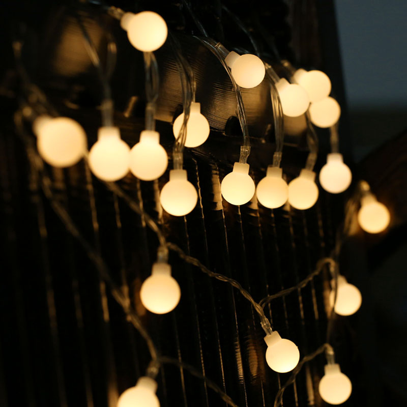 20 LED Mini Ball String Lights Fairy Garland 1.5M 3.5M Battery Operated Holiday String Lamp Home Party Wedding Decoration Light