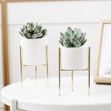1 компл.. Nordic стиль керамическое железо книги по искусству ваза минимализм цветок вазы горшок для растений украшения дома для OfficeRoom кофе дом