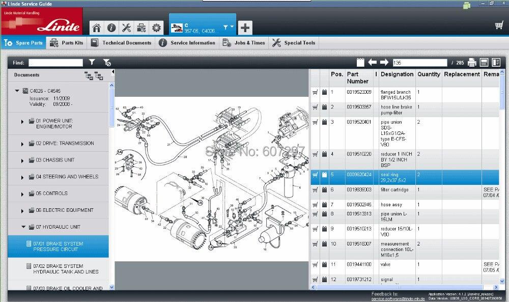 2017 new linde forklift diagnostic tool linde canbox linde doctor rh aliexpress com linde forklift parts manual linde parts manual esu 20