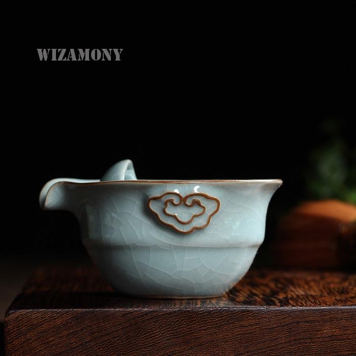 Кунг-фу чай комплект с 1 пот 1 чаша - Кухня, трапезария и бар - Снимка 3