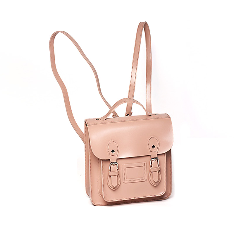 Brand Designer Women Backpack PU Leather Belt Satchel Mini Small Teenage Girl's Bag for School 2018 New Fashion Retro Bagpack