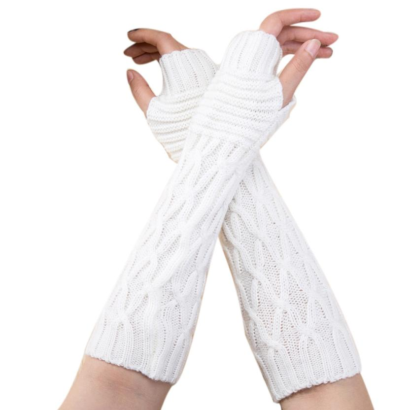 2017 New Fashion knitting gloves Women W