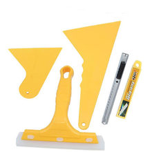 YG 5pcs/set Auto Car Squeegee Scraper Vehicle Vinyl Film Sticker Installation Tools Kit Vinyl Cutter Knife Car Styling(China)