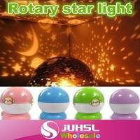 Rotation Starry Sky Sao Trăng Lãng Mạn Đêm Chiếu Sáng Đèn, 4 loại màu sắc Trong Kho, ánh sáng Ban Đêm, sao đèn, món quà kỳ ngh