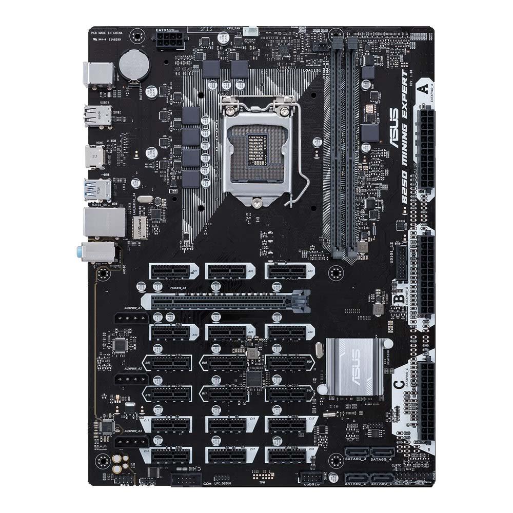 100% NEW ASUS B250 MINING EXPERT original motherboard LGA 1151 DDR4 for i3 i5 i7 14NM 32GB 19 graphics B250 Desktop motherboard free shipping brand new for biostar b150gt3 motherboard for biostar motherboard for desktop for i3 i5 i7 for lga 1151 for ddr4