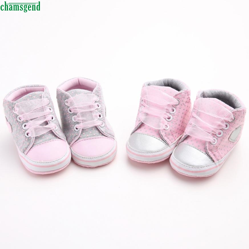 CHAMSGEND Girl Canvas Shoe Baby Boys Shoes Sneaker Anti-slip Soft Sole Toddler H35 SEP20