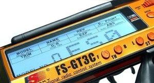 Image 4 - FlySky GT3C FS GT3C 2.4 GHz ערוצים משדר עם מקלט GR3E עבור מכוניות RC סירה