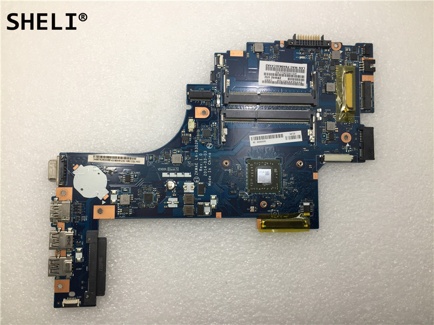 SHELI For TOSHIBA C50 C55 C50D C55D laptop motherboard LA-B302PSHELI For TOSHIBA C50 C55 C50D C55D laptop motherboard LA-B302P