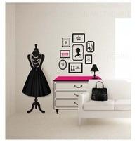 adesivo в де пареде наклейки на стену дизайн и декор моды com таблица наклейки девушка комната женская wade туалет персонализировать поделки