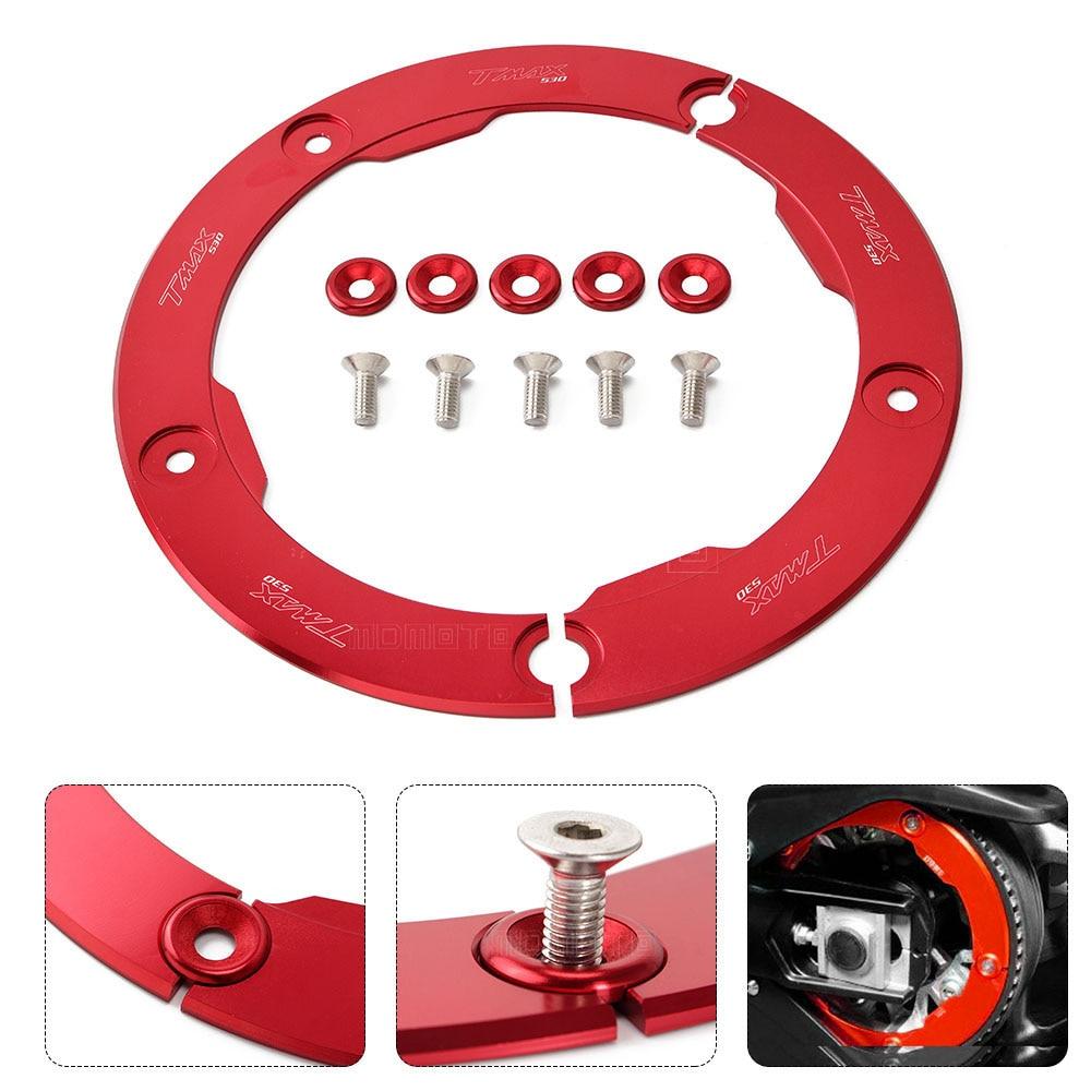 aksesori motosikal merah Penyalut Belt Pulley Cover pelindung Untuk - Aksesori dan bahagian-bahagian motosikal
