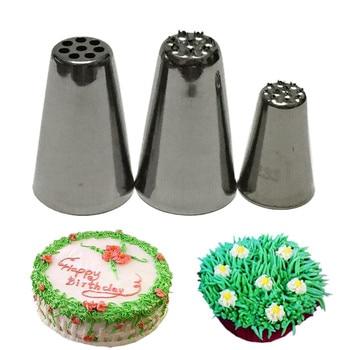 Набор инструментов для украшения торта, 3 шт.