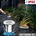 Точечный подземный светильник Встроенный светодиодный подземный наружный путь Двора Водонепроницаемый пылезащитный 12-24 В точечный светил...