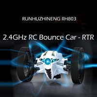 High Speed RC Car Bounce Car Remote Control Toys Jumping Car RTR Speed Switch Flexible Stunt