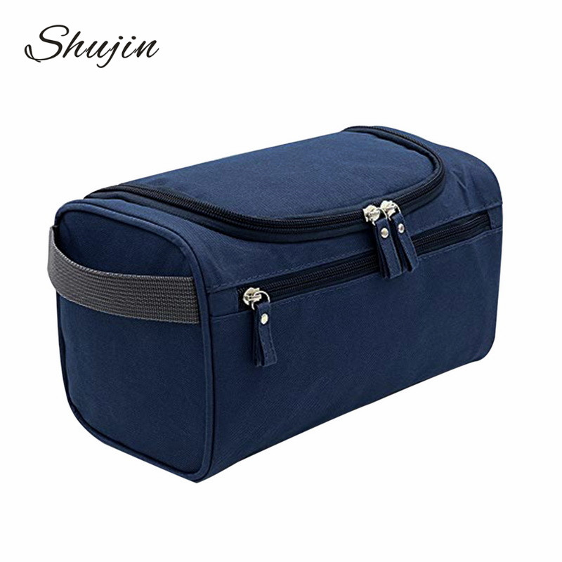 SHUJIN   Men Casual  Storage Makeup Bag Women Travel Jobs Bag Female Multifunction Portable Organizer Bag