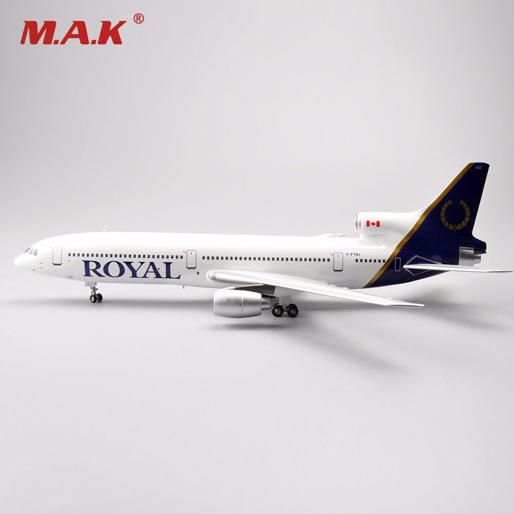 NEW 1/200 Diecast Airplanes Model Toys Inflight 200 LOCKHEED L-1011 TriStar ROYAL C-FTNI Model Aircraft Model Kids Gifts Colle 1 400 jinair 777 200er hogan korea kim aircraft model