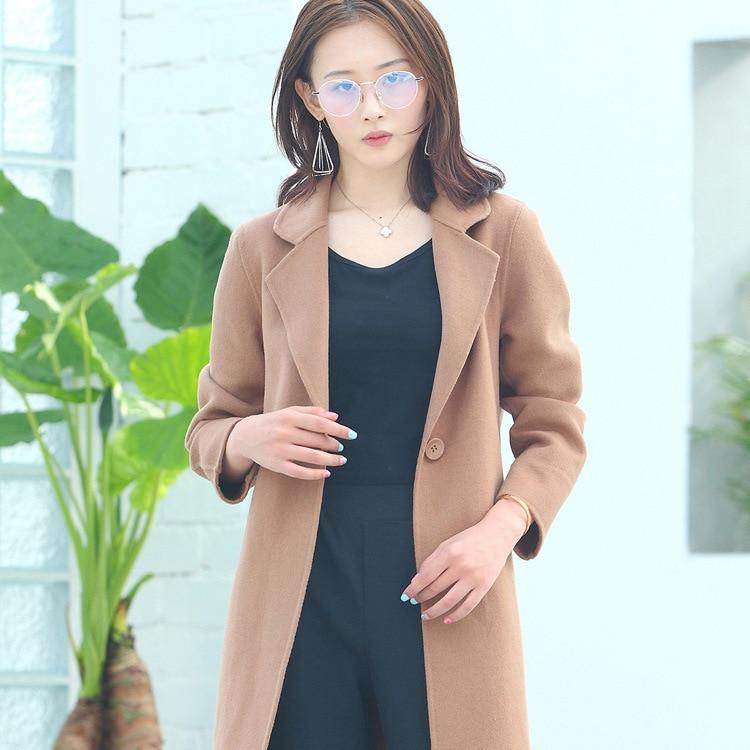 2018 Main Ceciliayu Hiver Mode Nouvelle Face En Automne Version Pour Cachemire Laine Double Vêtements À La Manteau Femmes Coréenne XUAwI
