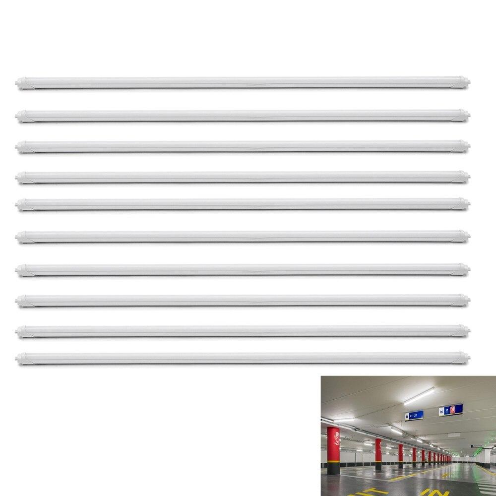 10 pièces LED Tube T8 Lampe Murale Intégrée Tube 18 W 120 CM 4ft 300mm T8 LED Lumières SMD 2835 Éclairage Blanc Froid AC85-265V - 4