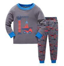 Children Baby Kids Girls Long Sleeve Nightwear Pajamas Set for girl Sleepwear Suit for boys Wholesale for children pijamas suits