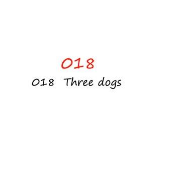 5D 平方ドリル diy のダイヤモンドモザイクダイヤモンド刺繍 3 犬刺繍クロスステッチ家の装飾のギフト 018