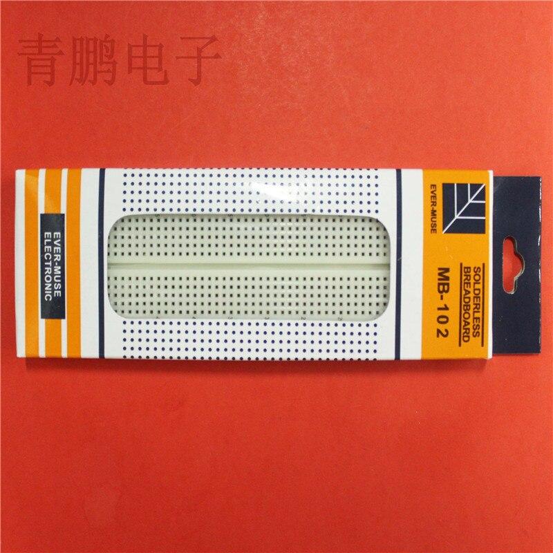 MB - 102 High Quality Bread Board PCB Bread Board Experiment Board Universal Board 165 * 55 * 10 Mm