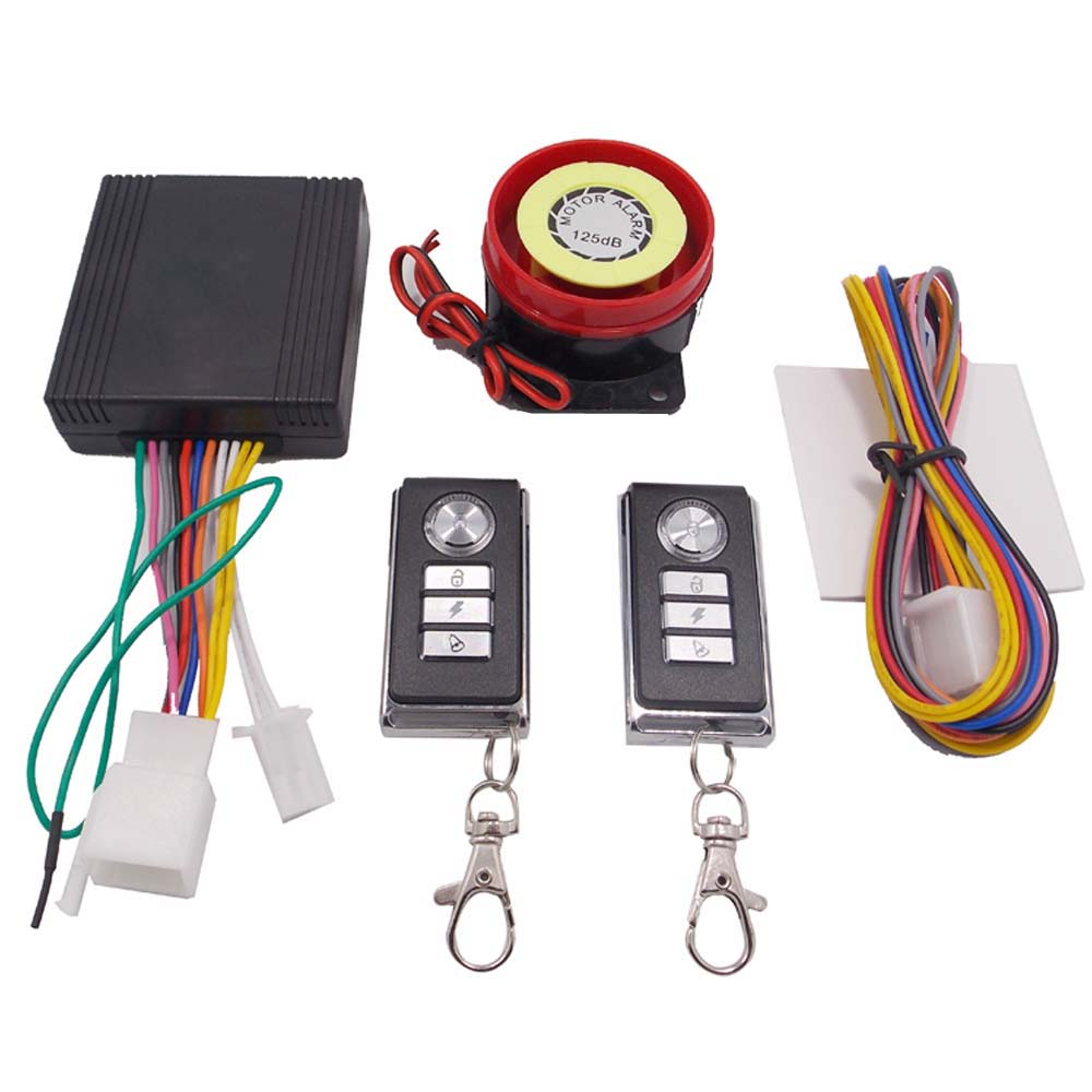Scooter Motorcycle Alarm System Moto Alarm One Way