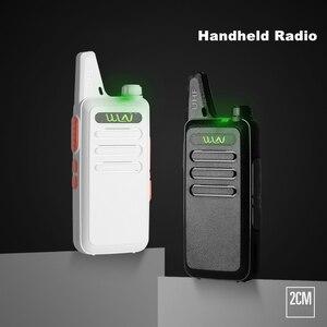 Image 2 - Walkie Talkie Mini WLN KD C1 Radio de dos vías para carreras de coches KDC1 CB estación de Radio aficionado UHF portátil inalámbrico FM transceptor