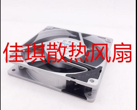 Emacro For Royal Fan UT125AW Server Square Fan AC 200V 14/12W 120x120x25mm 2-Pin free shipping emacro young lin dfs701512m dc 12v 2 8a 2 wire 2 pin connector 100mm 70x70x15mm server square cooling fan