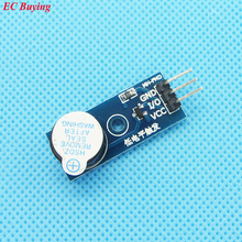 10 pcs High Quality Active Buzzer Module For Arduino have Source 3.3V-5V(China (Mainland))