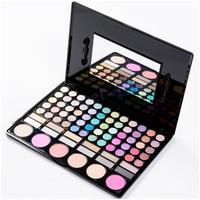 New 78 Colors Eyeshadow Palette Naked Palette Makeup Eye Shadow Sombras De Ojos Powder Sponge Brushes