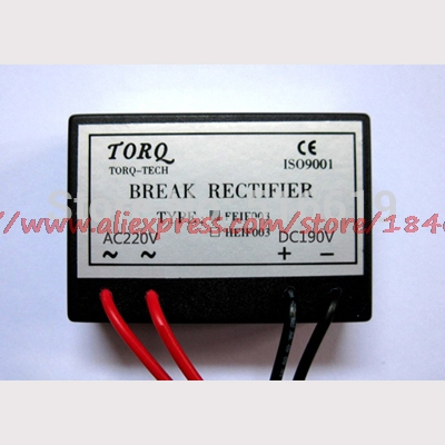 Free Shipping      FEIF006A (AC220V/DC180~198V) 18 High-frequency Brake Rectifier Device