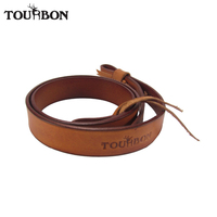 Tourbon Dual Point Gun Strap Leather Belt Shotgun Slings Rifle Shoulder Strap Hunting Gun Accessories 92cm