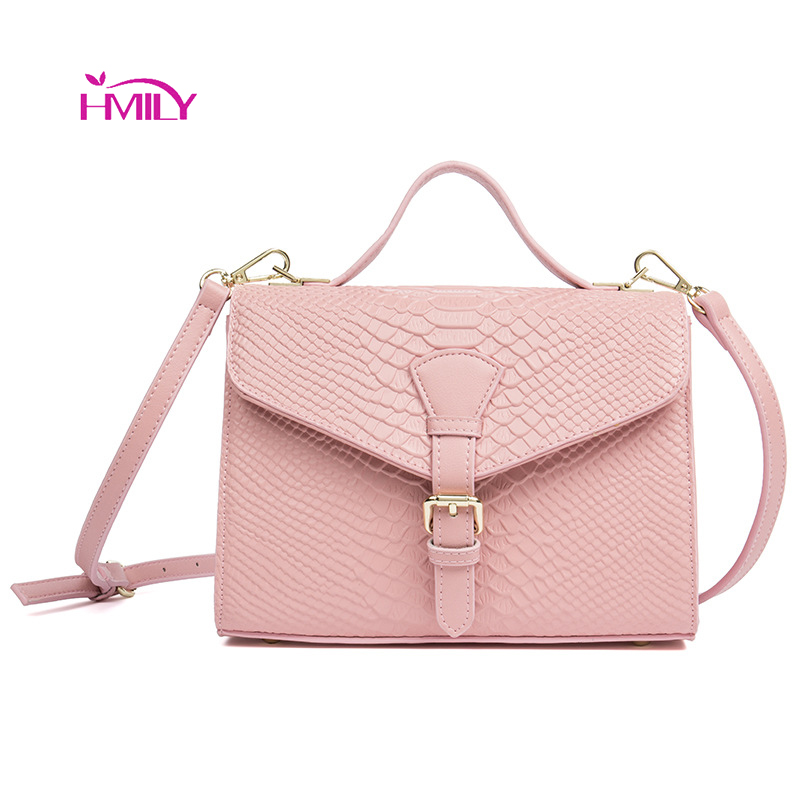 HMILY Women Messenger Genuine Leather Bag Plaid ladies Crossbody Bag Chain Trendy Cow skin Small Shopping Daily Shoulder Bag 2016 new winter ladies leather shoulder messenger trendy black bag chain real internal spacing free shipping