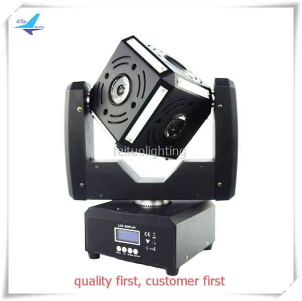 Best Sell Mini 60w Snake Eye Beam LED Moivng Head Light 6x12w RGBW Osram+12*6*5050 RGB 3IN1 Stage Disco Lighting for Wedding Bar