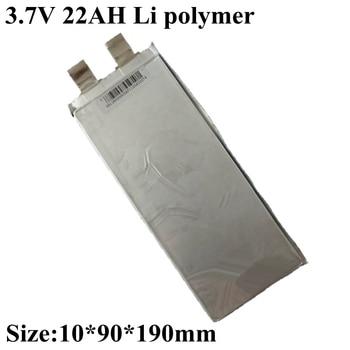 Marka 3.7v 22Ah 3.8v lit tlenek kobaltu baterii 20C Max rozładowania 400A wysoki prąd dla Diy paczka Bateria 12v 20ah elektronarzędzia