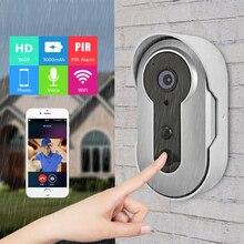 ANRAN Date 960 P Wifi Smart HD Sonnette Caméra Construit En 3000 mAh Batterie Infrarouge Sans Fil PIR Alarme Bidirectionnelle Audio Interphone