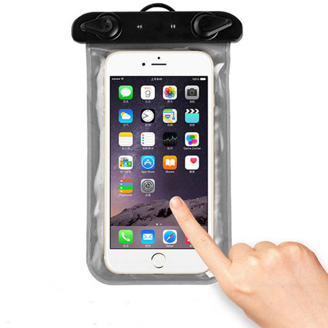 Universal Waterproof Phone Bag Case Cover Mobile Phone Pouch For Huawei Ascend P8 Lite P8 mini Ale-L21 Underwater Swimming Bag
