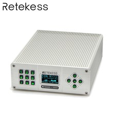 цена на Retekess TR505 25W PLL FM Transmitter Antenna USB Mini Radio Stereo Station Wireless Lossless Music Broadcast + Power + Antenna