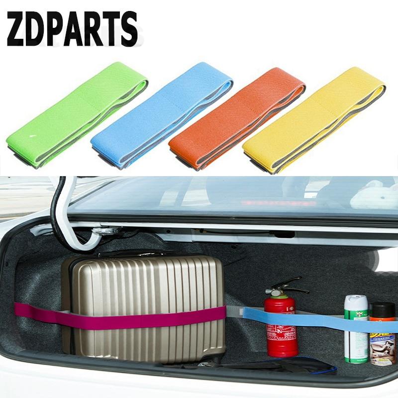ZDPARTS 1X Car Crash Trunk Storage Fixed Strap Stickers For Lada Granta Vesta Kalina Priora Toyota Corolla Avensis Rav4 Fiat 500